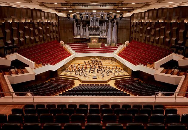 Großer Saal im Gewandhaus ohne Publikum