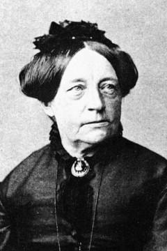 Bild wird vergrößert: Louise Otto-Peters (1819-1895), Vorkämpferin für die Frauenrechte im 19. Jahrhundert in Leipzig.