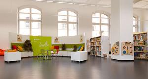 Kinderbibliothek in der Leipziger Stadtbibliothek