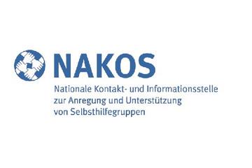 Bild wird vergrößert: Logo Nakos - Nationale Kontakt- und Informationsstelle zur Anregung und Unterstützung von Selbsthilfegruppen