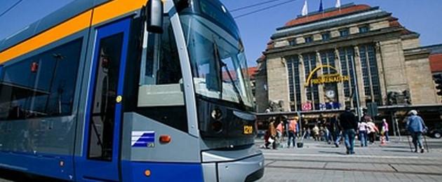 Mit Bus Und Bahn Unterwegs In Leipzig Stadt Leipzig