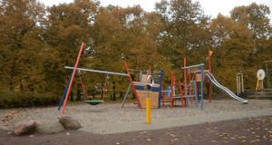 Kletterkombination auf dem Spielplatz Alte Salzstraße