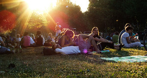 Mini-Festivalwiese beim Hörspielsommer 2013