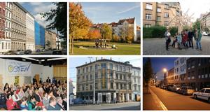 Beispiele der Stadterneuerung in Bildern
