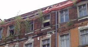Beispiel für eine Gebäudesicherung (Detail)