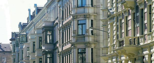 Fassade eines Gründerzeithauses