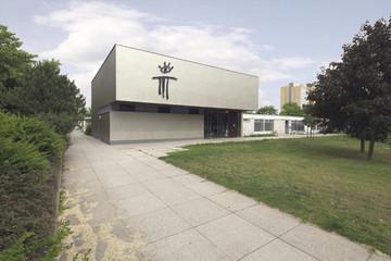 Bild wird vergrößert: Gebäudeansicht Neues Theatrium