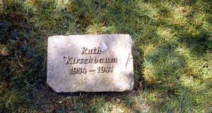 Grabstein Ruth Kirschbaum