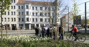 Leipziger Osten  25. Forum des Leipziger Osten- Baustellenwanderung zu Projekten