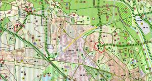 Kartenausschnitt aus dem Integrierten Entwicklungskonzepts des Landschaftsplans