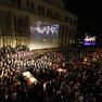 Eröffnung des Lichtfests 2014 auf dem Augustusplatz
