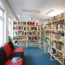 Bibliothek Paunsdorf - Bereich Belletristik