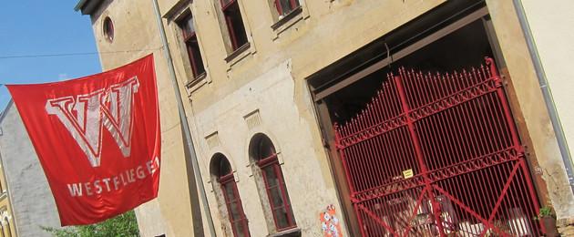 Eingangstor des Lindenfels Westflügel