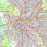 Thematische Karte auf Grundlage der Geobasisdaten - Fahrradstadtplan Kartengrundlage: Stadtplan 1:20000