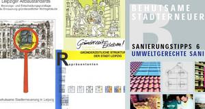 Verschiedene Titel von Broschüren zum Thema Neue Gründerzeit