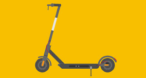 Abbildung eines E-Scooters