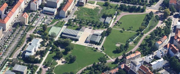 Luftbild Freizeitpark Rabet