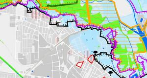Kartenausschnitt aus der Schutzgebietkarte