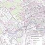 Thematische Karte auf Grundlage der Geobasisdaten - Bodenrichtwertkarte der Stadt Leipzig BRW 2012 Kartengrundlage: DSK 5 1:10000
