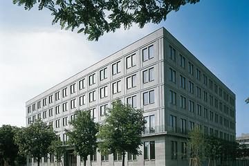 Bild wird vergrößert: Gebäudeansicht Landeszentralbank Sachsen Thüringen