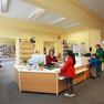 Bibliothek Grünau-Mitte - Servicetheke
