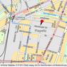 Stadtplan der Stadt Leipzig mit Standortangabe