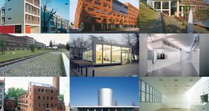 Zusammenstellung von Bildern zum Architekturpreis