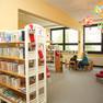 Bibliothek Grünau-Mitte - Sitzecke im Kinderbereich