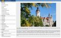 Bildschirmfotos der Webseite des Ratsinformationssystems. Neben den Menüpunkten ist ein größeres Bild des Neuen Rathauses sichtbar.