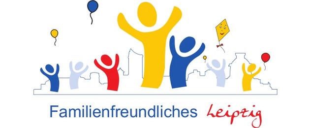 Logo zur Aktion familienfreundliche Stadt Leipzig
