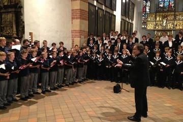 Bild wird vergrößert: Leipziger Thomanerchor und Knabenchor Hannover musizieren gemeinsam in der Thomaskirche zu Leipzig
