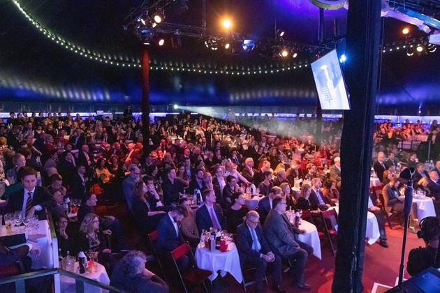 Viele Zuschauer beim Innovation in Politics Award 2019