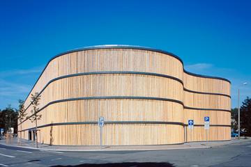 Bild wird vergrößert: Gebäudeansicht Zoo Parkhaus