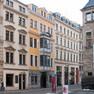 Außenansicht des Bosehauses in Leipzig