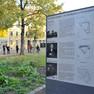 Informationstafel auf dem Stöckelplatz