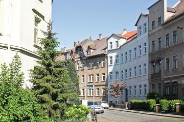 Bild wird vergrößert: Blick in das Bülowviertel Leipzig