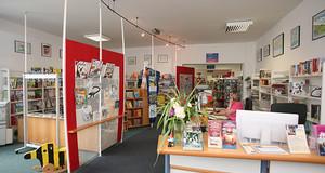 Bibliothek Böhlitz-Ehrenberg - Servicetheke