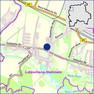 Übersichtskarte aus dem Stadtplan mit markierten Standort