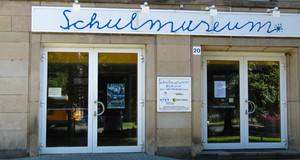 Der Eingangsbereich des Leipziger Schulmuseums.