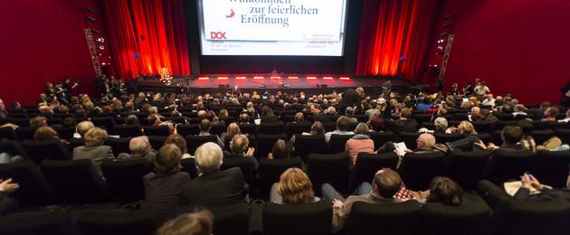 Dok Leipzig Publikum im Kinosaal