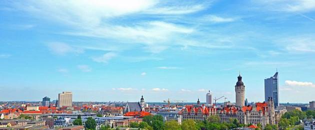 Stadtzentrum Panorama Leipzig