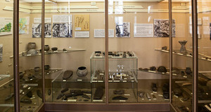 Exponate der Ausstellung Ur- und Frühgeschichte im Naturkundemuseum