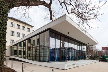 Bild wird vergrößert: Der Architekturpreis 2013 ging als Lobende Erwähnung an das Thomasalumnat