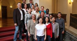 Mitglieder des Migrantenbeirates der Stadt Leipzig