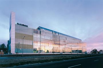 Bild wird vergrößert: Gebäudeansicht Hauptverwaltung VNG