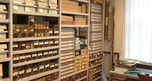 Ein Blick in das Archiv