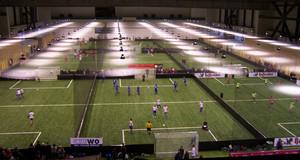 Soccerworld Leipzig: Halle mit Innenfußballspielplätzen