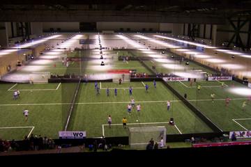 Bild wird vergrößert: Soccerworld Leipzig: Halle mit Innenfußballspielplätzen