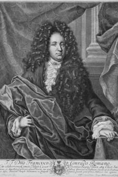 Bild wird vergrößert: Historisches Portrait vom Bürgermeister Romanus.