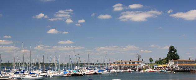 Hafen am Cospudener See